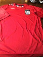 Inglaterra Umbro Retro de distancia camisa tamaño grande hombre