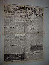FAC-SIMILE A LA UNE JOURNAL PETIT PARISIEN 26/12 1942 ASSASSINAT AMIRAL DARLAN