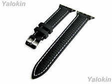 Rubber Ergonomic Replacement Band Strap for 42mm Apple Watch Models (B-MHLS24)