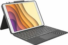 "Logitech - Combo Touch Keyboard Case for Apple® iPad® Air 10.5"" (3rd Gen 2019..."