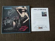 Scorpions Savage Amusement Band Signed Autographed LP Album All 5 PSA Certified