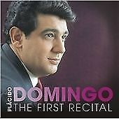 PLACIDO DOMINGO THE FIRST RECITAL CD NEW