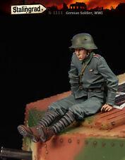 1/35 Scale Resin Figure kit German Soldier, WWI #1