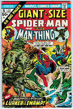 Giant-Size Spider-Man #5 F+ 6.5 Man-Thing The Lizard Ross Andru Art!