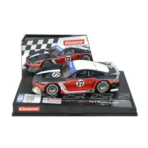 """Carrera Evolution Ford Mustang GTY """"No.17"""" Slot Car SUIT Scalextric"""