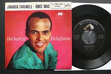 "7"" Harry Belafonte - Jamaica Farewell - US RCA w/ Pic"