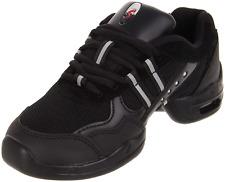 Black Sansha Flight P21 split sole dance sneaker - Size UK Child 1