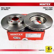 2X Mintex Delantero Frenos De Disco MDC1752 Para Mercedes Benz A-Clase B-Clase Genuino