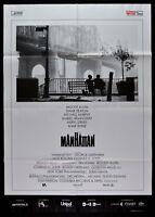 Poster Manhattan Woody Allen Meryl Streep Hamingway Keaton Kino Film M100