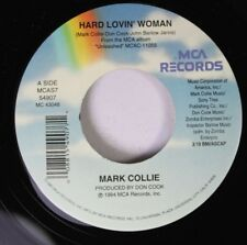 Country Unplayed 45 Mark Collie - Hard Lovin' Woman / Ring Of Fire On Mca Record