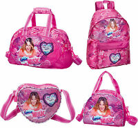 Disney Violetta Girls PREMIUM Backpack Rucksack Travel Bag Lunch Bag School