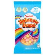 RAINBOW DROPS 10g BAG x 25 BAGS RETRO SWEETS PARTY BAG FILLERS