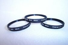 Rolev 49 mm Close Up Filter Set (+1, +2,+3) (T-62)