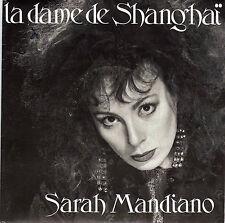 SARAH MANDIANO LA DAME DE SHANGAI / EN SURSIS FRENCH 45 SINGLE