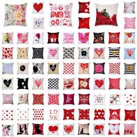 Lover Throw Kissenbezug Taille Kissenbezug Sofa Home Decor Valentinstag Geschenk