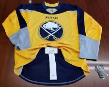 Buffalo Sabres Reebok Edge NHL Authentic Jersey Yellow Third
