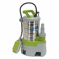 Sealey Submersible Stainless Water Pump Automatic Dirty Water 225ltr/min 230V