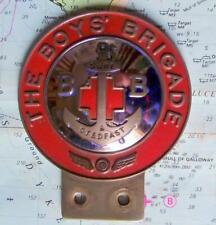 More details for vintage chrome boys brigade club car mascot badge by birmingham medal co b