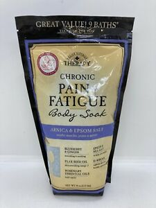 Village Naturals Therapy Chronic Pain & Fatigue Body Soak 36oz Arnica/Epsom Salt