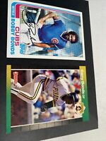 1982 topps Bobby Bonds #580 and 1989 Donruss Barry Bonds #92