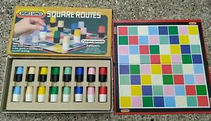 Vintage Spear's Games Board Game - Square Routes - Strategy Family Game Retro