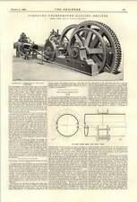 1894 Compound Underground Hauling Engines Robey Williams Wedge Seam Joint