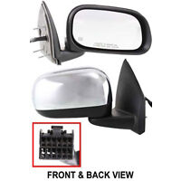 Chrysler Aspen 2007-2009 Right Side Mirror Power Heated Auto Dimming Memory Fold