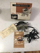 Vintage Oster Stim-U-Lax Junior Model M-4  Massager, USA Tested