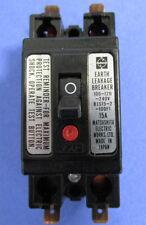 NATIONAL SMALL EARTH LEAKAGE BREAKER AB TYPE BJS152100F1