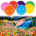 Colorful Ball Pit Balls Fun Soft Plastic Ocean Swim Pool Play Toy 50pcs MK76Y
