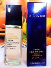 ESTEE LAUDER Futurist Aqua Brilliance Makeup 1C0 (30ml) #61 COOL PORCELAIN NIB