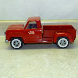 Vintage Tonka Dodge Red Step Side Pick Up Truck, Pressed Steel Toy