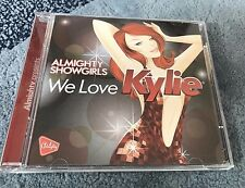 Kylie Minogue 2 CD set Almighty Showgirls We Love Kylie Remixes Megamix rare