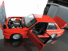 BMW M3 E30 serie 3 Rouge 1/18 MINICHAMPS
