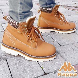 Kappa Winterschuhe Boots Winter Wander Schuhe Stiefel Montana Camel Beige