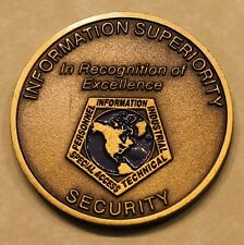 Information Superiority Security DoD Air Force Challenge Coin