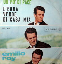 "EMILIO ROY L'ERBA VERDE DI CASA MIA ( CALIFANO ) 7"" BEAT ITA  67 CANTORI MODERNI"