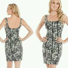 NWT GUESS Ginger Sleeveless Lace-Print Dress size 6