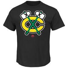 NHL Eishockey T-Shirt CHICAGO BLACKHAWKS Prepared Play black Alternativ Logo