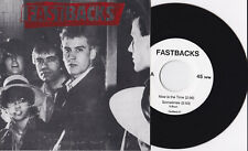 """Fastbacks - Now Is The Time 7"""" Cheaters Posies Flop Visqueen Pure Joy Pop Punk"""