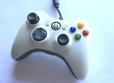 Official Microsoft Xbox 360 Wired White Original Genuine Controller Game Pad