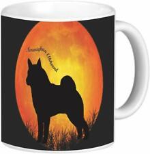 Rikki Knight Norwegian Elkhound Coffee Mug, 11-Ounce