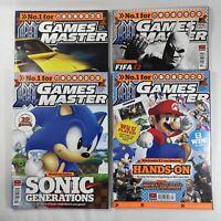Games Master Magazine 2011 Bundle x4 Issues Jun 238 Jul 239 Aug 240 Sep 241 VGC