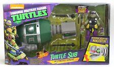 Teenage Mutant Ninja Turtles Turtle Sub U-Boot mit Donnie Donatello Figur NEU