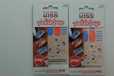 Kiss Polish Pop Full Cover Accent Stickers - 62296 Main Street (2 PACK)