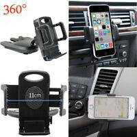 Universal Car CD Slot Handy GPS Sat Nav Ständer Halter Halterung Wiege