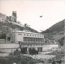 SAINT-HIPPOLYTE c. 1950 - Construction du Barrage de Couesques Aveyron- DIV 5098