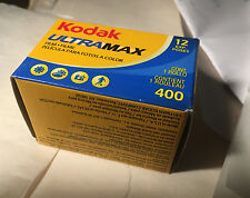 Kodak Max 400 135 35mm Color Negative Film 12 exp. 08/2009