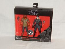 Star Wars Black Series 6 Inch Figure admiral ackbar & 1st order officer