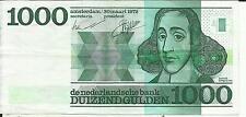 NETHERLANDS 1000 GULDEN 1972  P 94. VF CONDITION. 4RW 26 SET